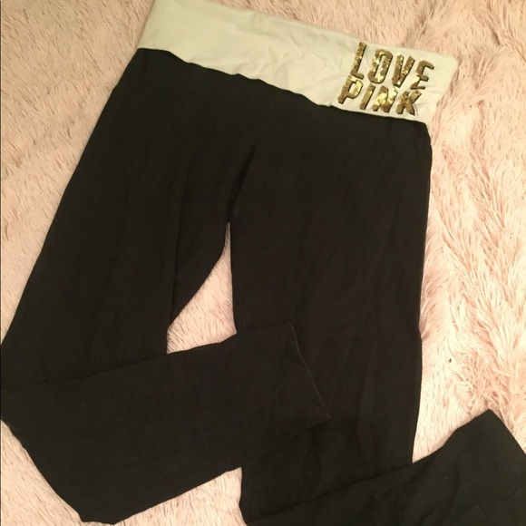 PINK Victoria's Secret Pants - M VS Leggings